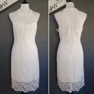 New Lilly Pulitzer Kenna Lace Halter Dress